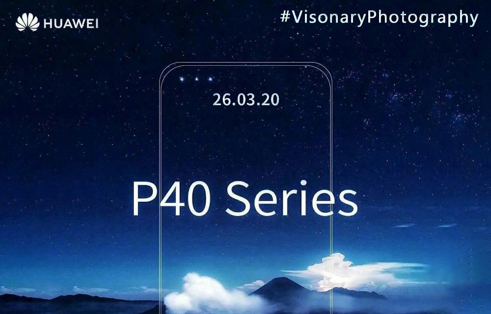 Huawei P40 Pro Triple Selfie