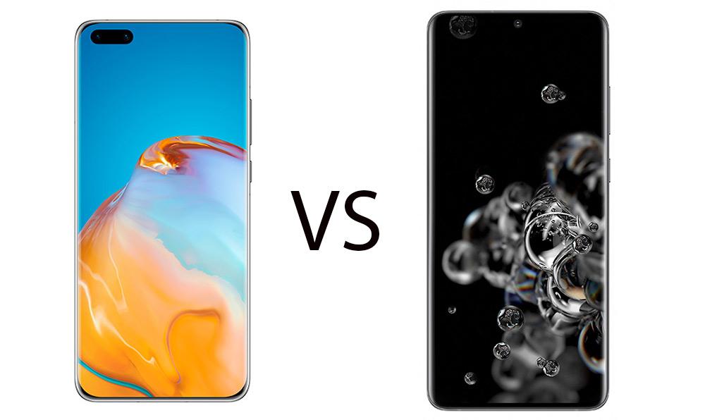 Huawe P40 Pro+ vs Samsung Galaxy S20 Ultra: Σύγκριση στα τεχνικά χαρακτηριστικά