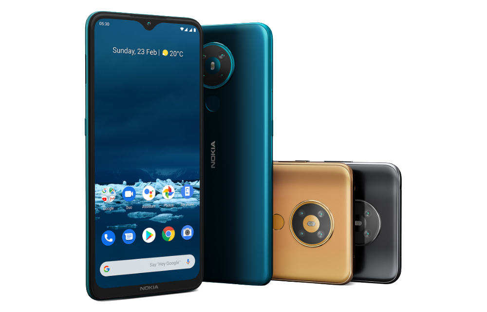 Nokia 8.3 Nokia 5.3 Nokia 1.3 Nokia 5310