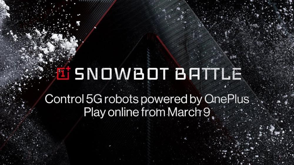 OnePlus Snowbots 5G Interactine Game