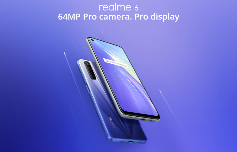 Realme 6 and 6 Pro Official