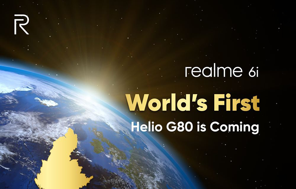 Realme 6i official teasers