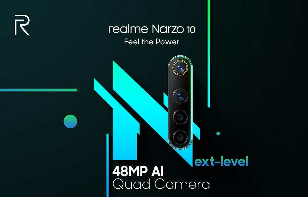 Realme Narzo 10 Camera AI 48MP
