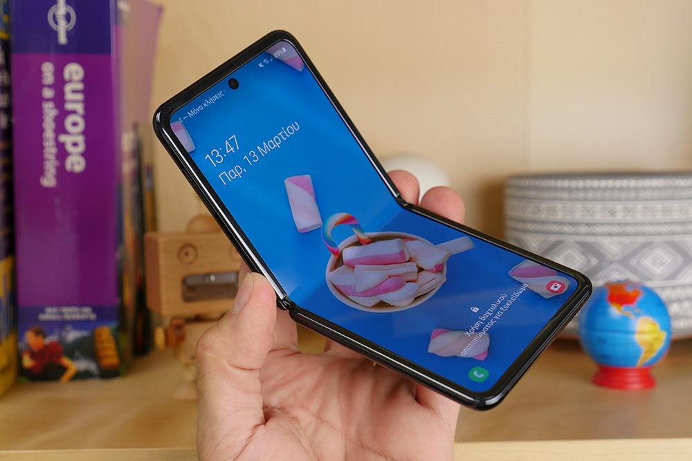 Samsung Galaxy Z Flip ελληνικό hands-on video review