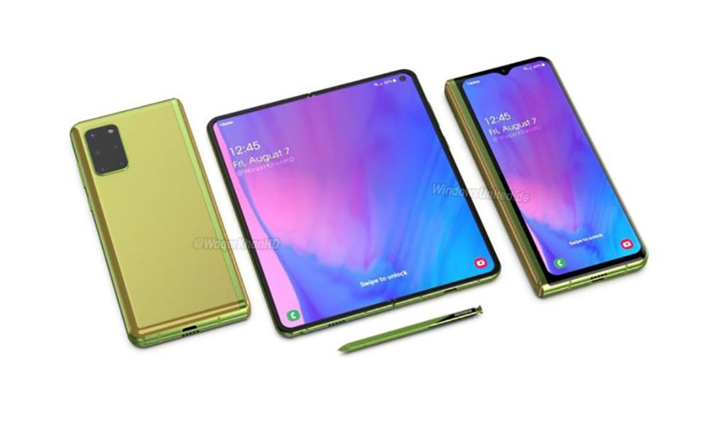 Samsung Galaxy Fold 2: Τα πρώτα renders του επόμενου foldable smartphone