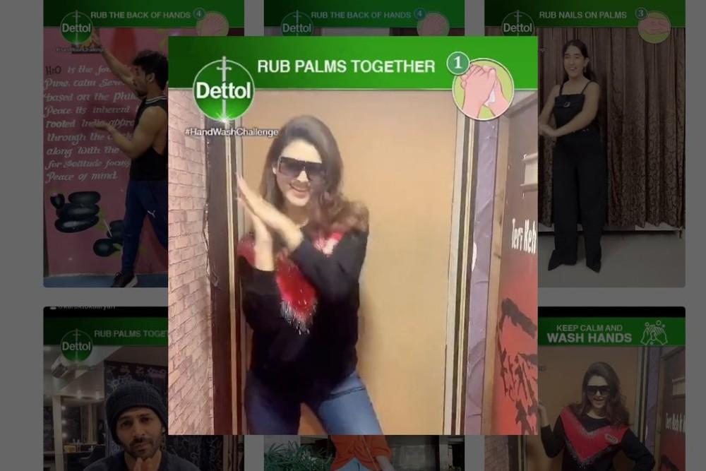 Hand-wash challenge της Dettol στο TikTok άγγιξε τις 9 δισ. προβολές