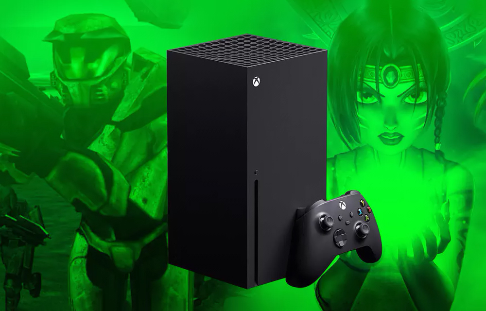 Xbox Series X HDR Old Games