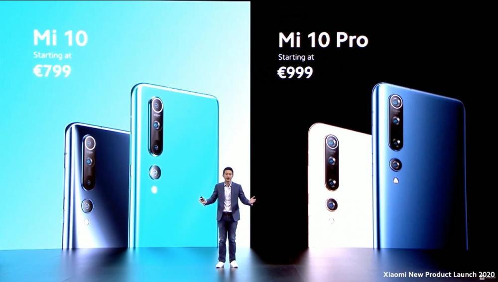 Xiaomi Mi Pro τιμή 999 ευρώ, Mi 10 τιμή 799, κυκλοφορούν τον Απρίλιο