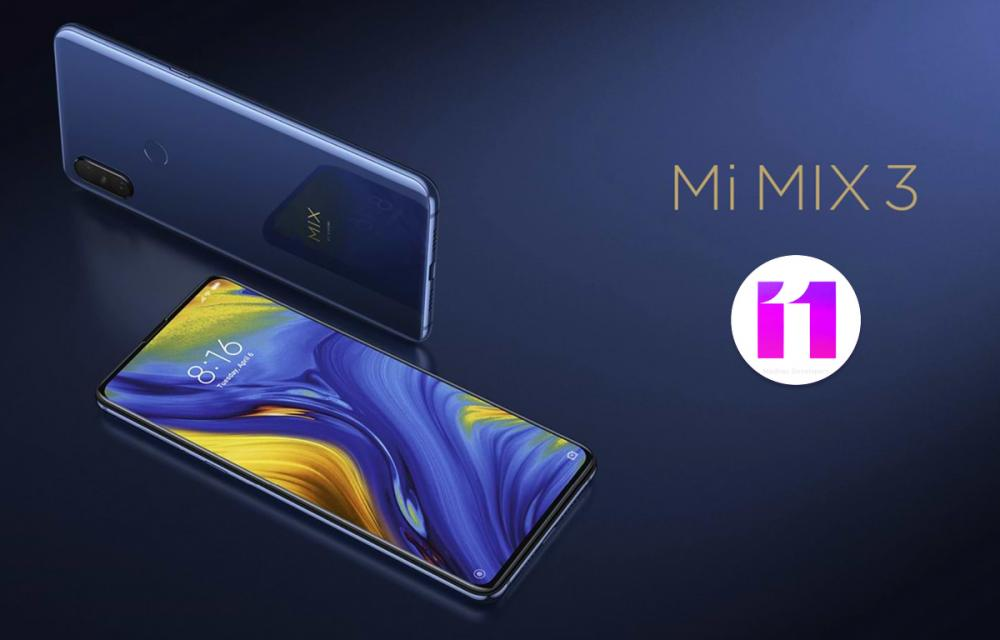 Xiaomi Mi MIX 3 Android 10