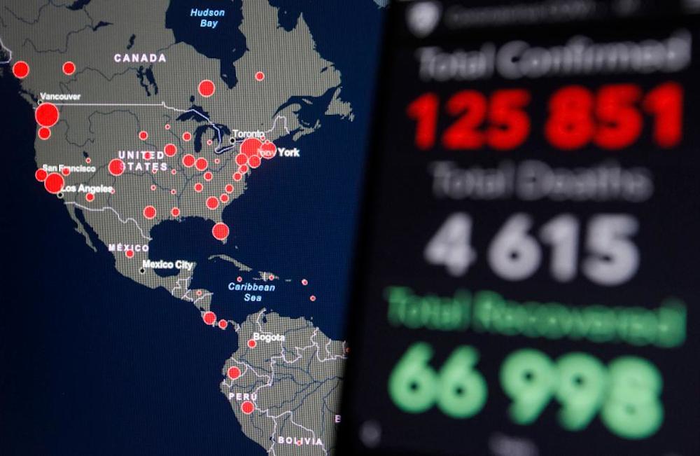 Hackers εκμεταλλεύονται τους χάρτες της πανδημίας