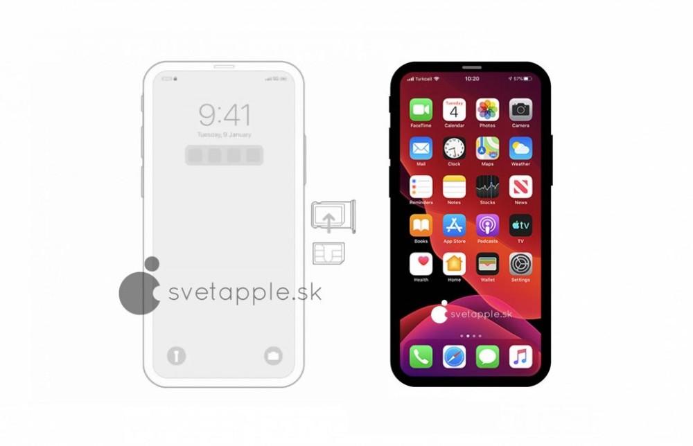 iPhone 12: Renders μας δίνουν μια γεύση ενός notchless smartphone