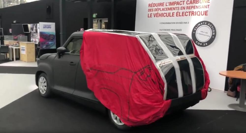 Ηλιακός φορτιστής - κάλυμμα φορτίζει το ηλεκτρικό αυτοκίνητο όσο είναι παρκαρισμένο