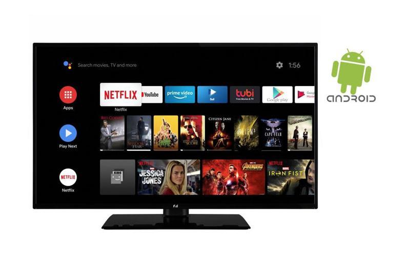 Δοκικάζουμε την τηλεόραση F&U FLA5820 με Android TV, ελληνικό hands-on video