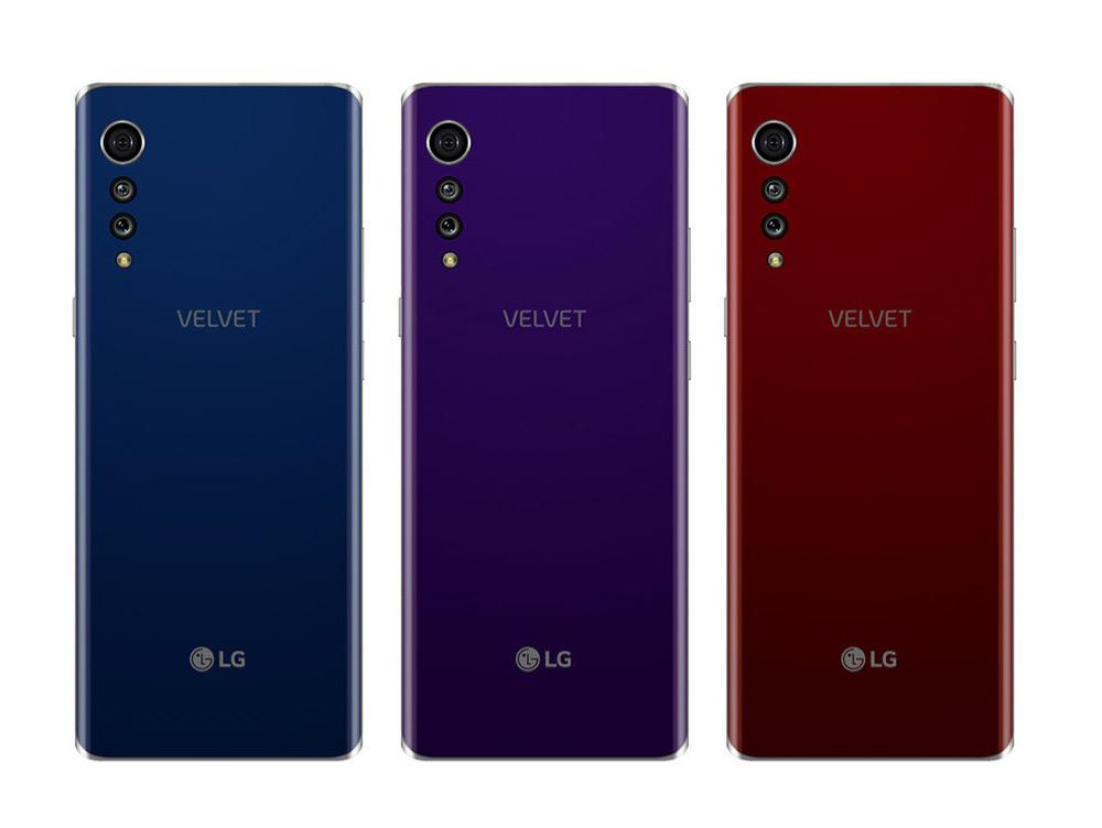 LG Velvet ThinQ render