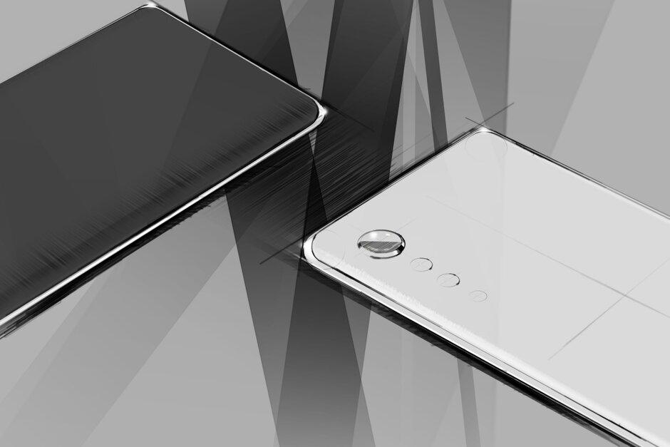 LG smartphone new design