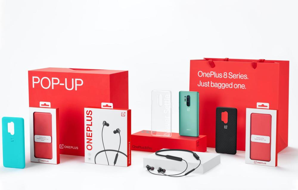OnePlus 8 Pop Up