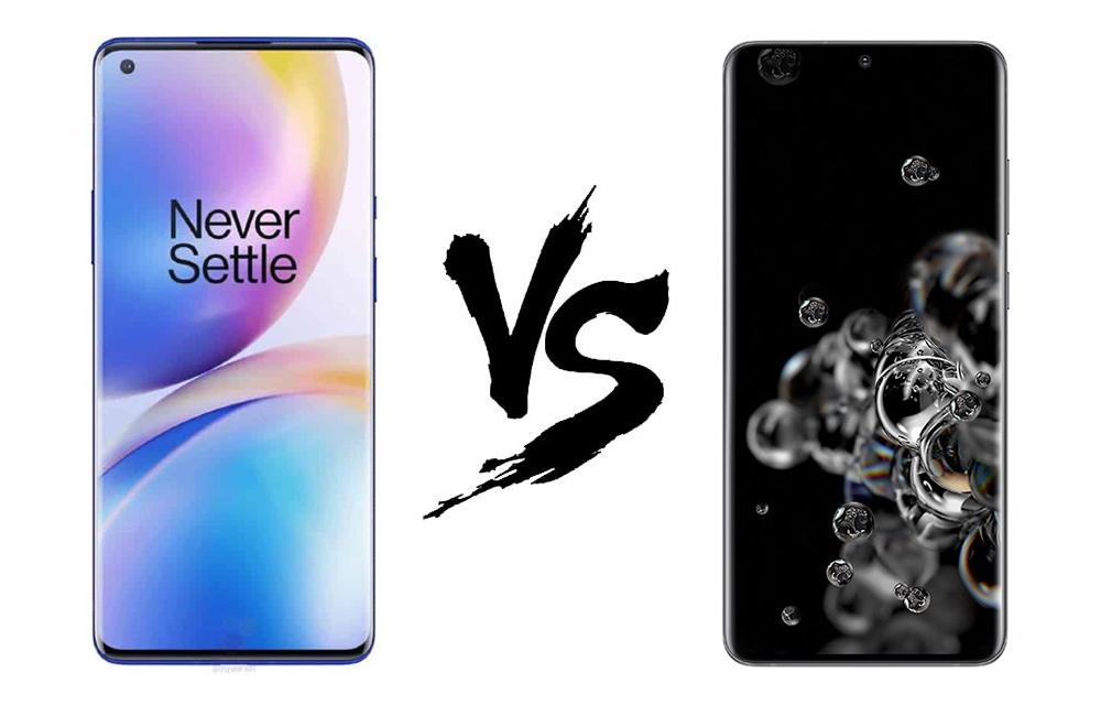 OnePlus 8 Pro vs Samsung Galaxy S20 Ultra