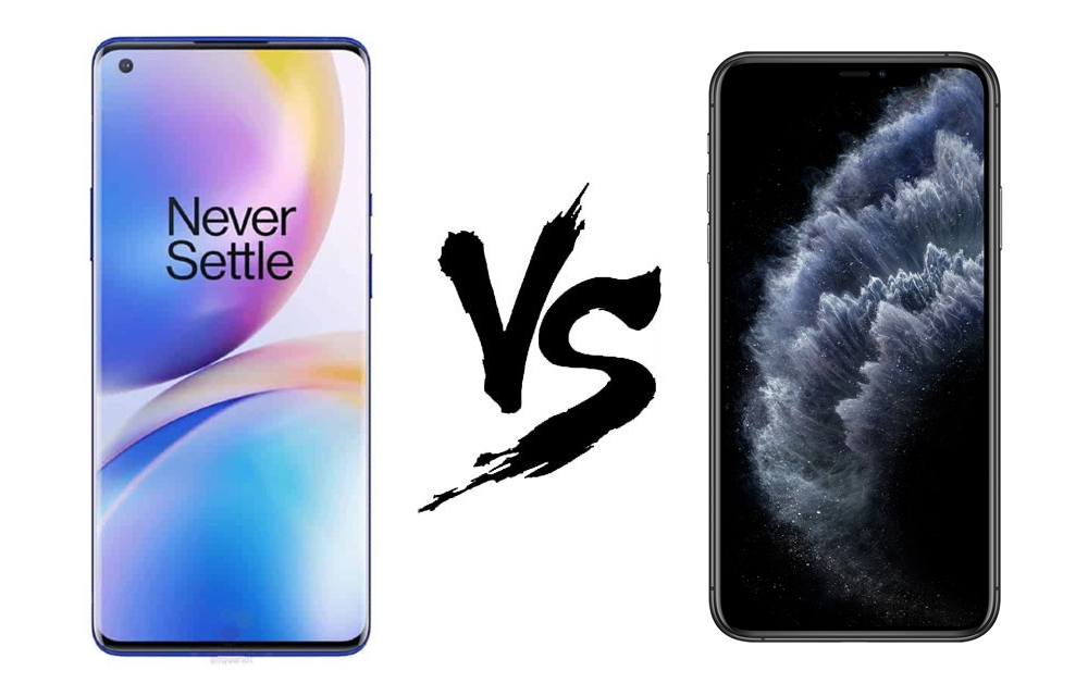 OnePlus 8 Pro vs iPhone 11 Pro Max