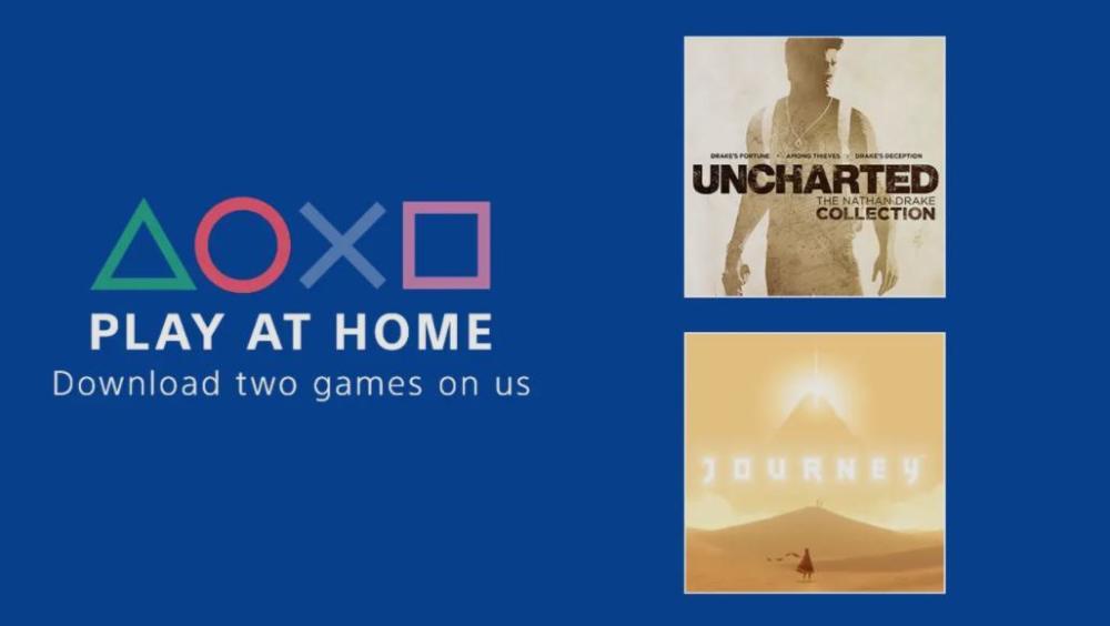 Δωρεάν Journey και Uncharted: The Nathan Drake Collection
