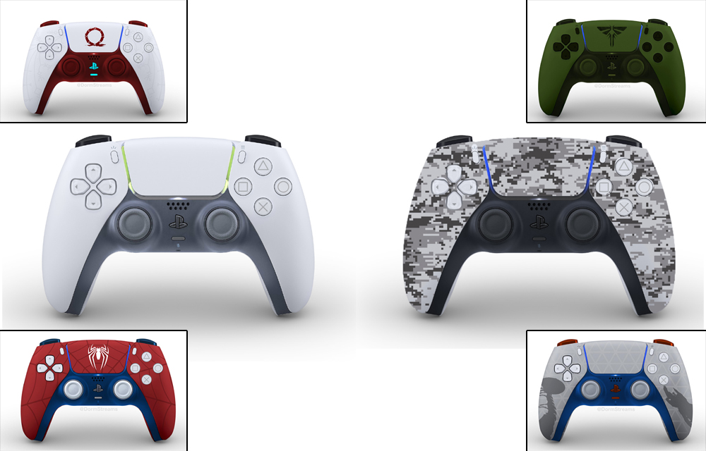 PlayStation 5 DualSense Users Designs