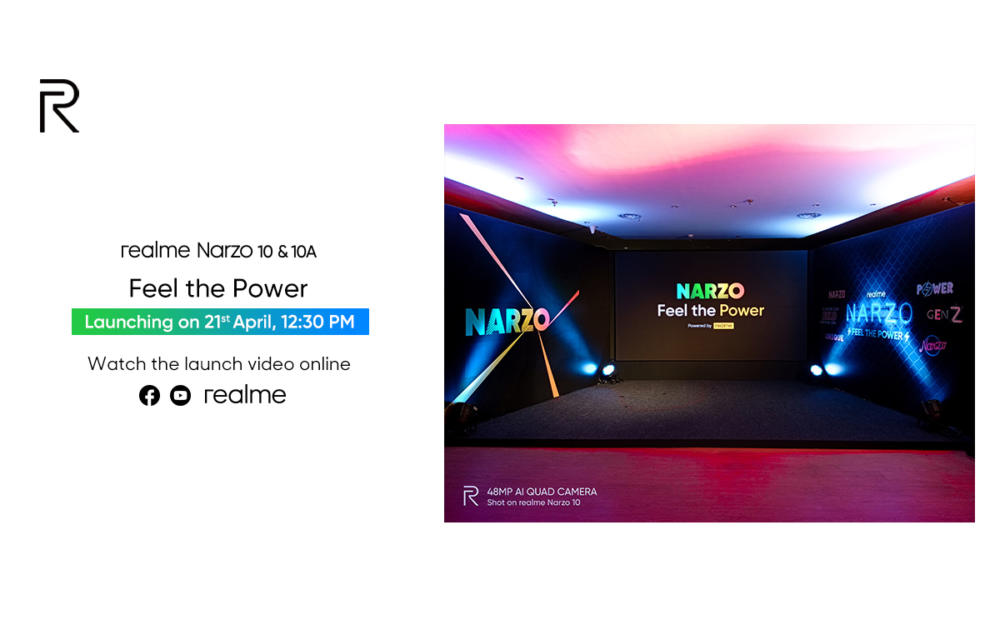 Realme Narzo 10 10A Event