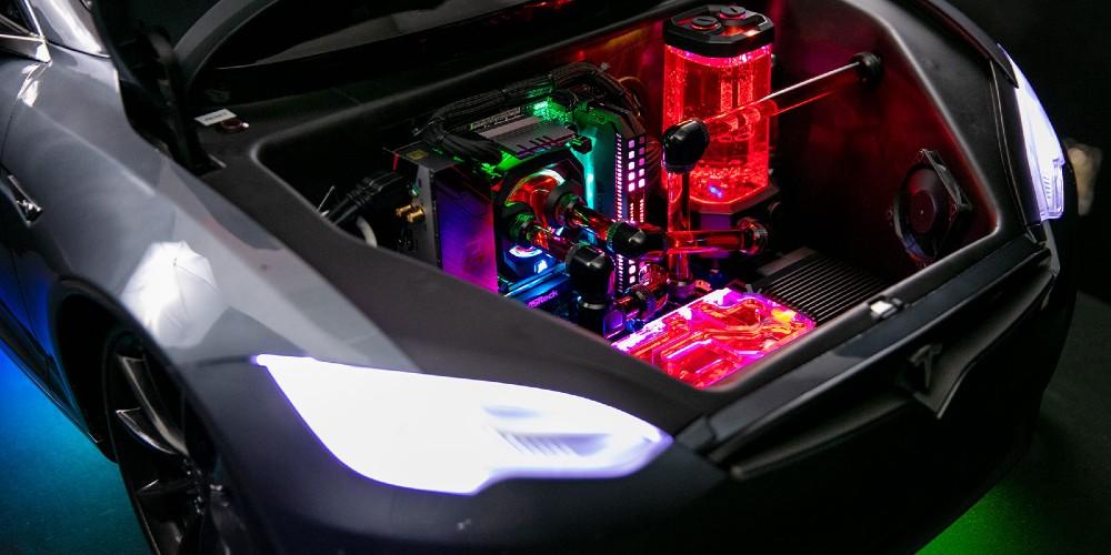 Tesla Model S Gaming PC