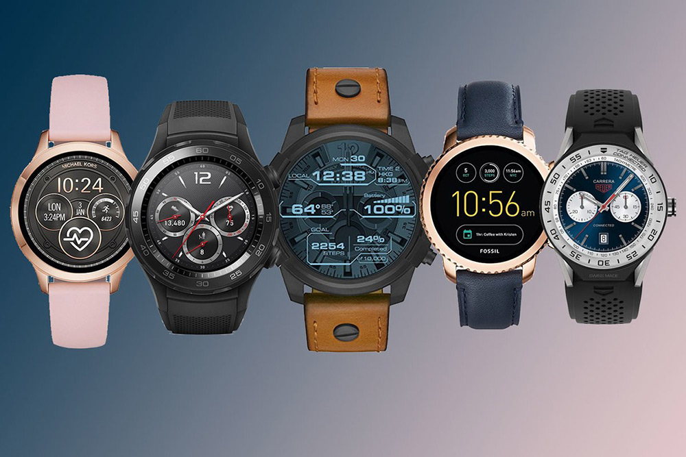 Wear OS smartwatches
