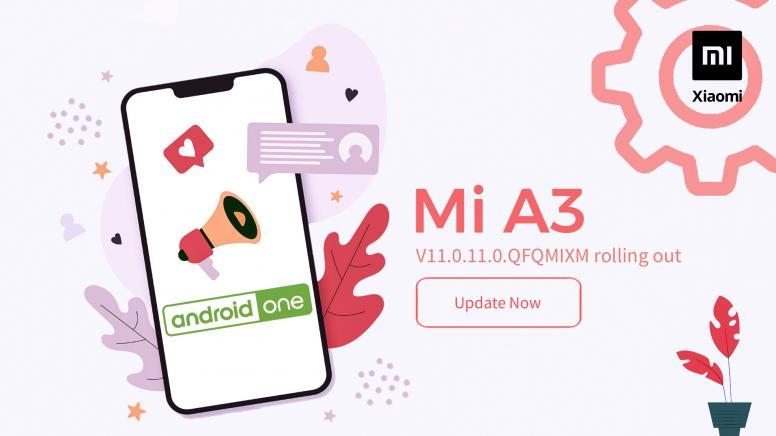 Xiaomi Mi A3 Android 10 update