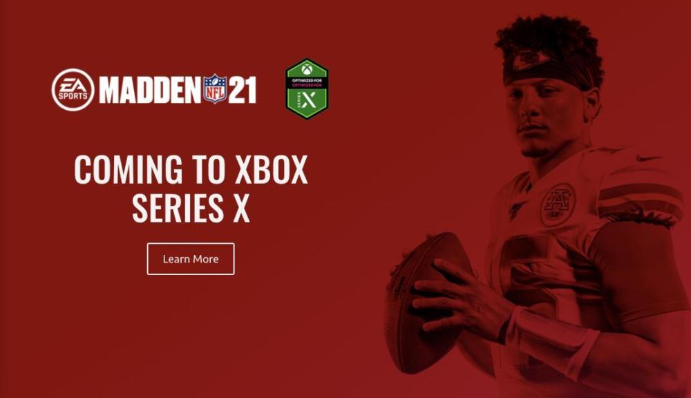 EA Madden 21 Xbox Series X