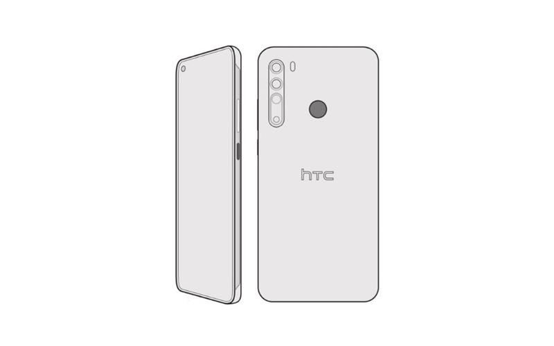 HTC Desire Pro cad render