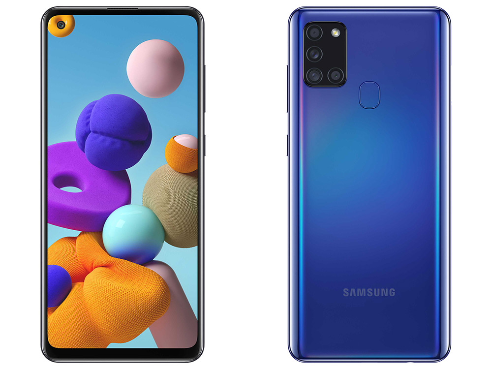 Samsung Galaxy A21s revealed