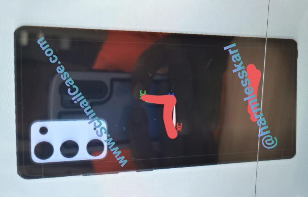 Samsung Galaxy Note 20 Renders