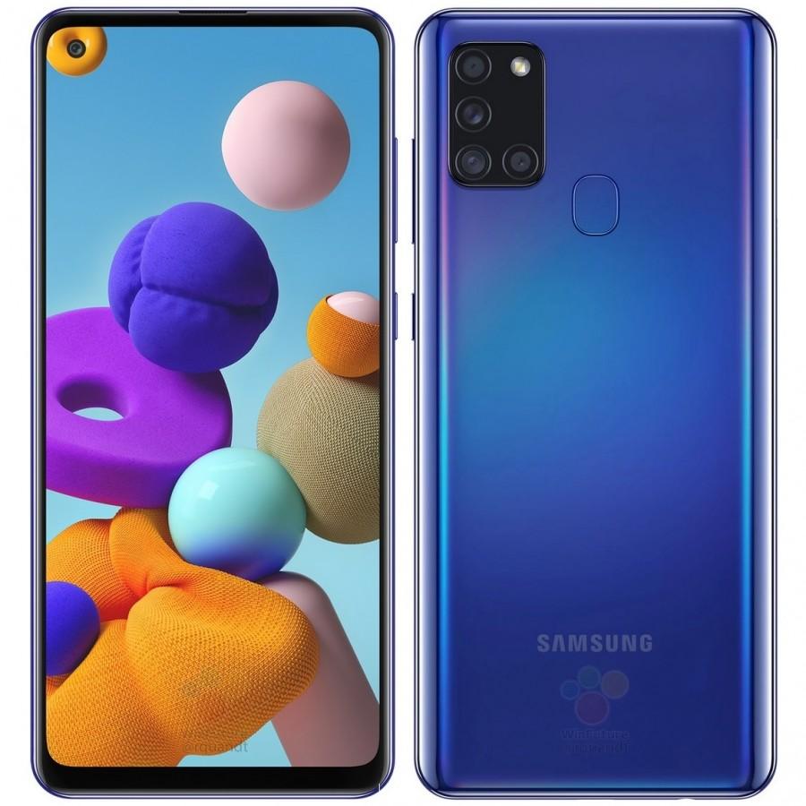 Samsung Galaxy A21s leaks