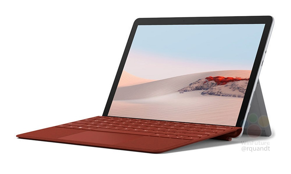 Surface Go 2 press image leaks