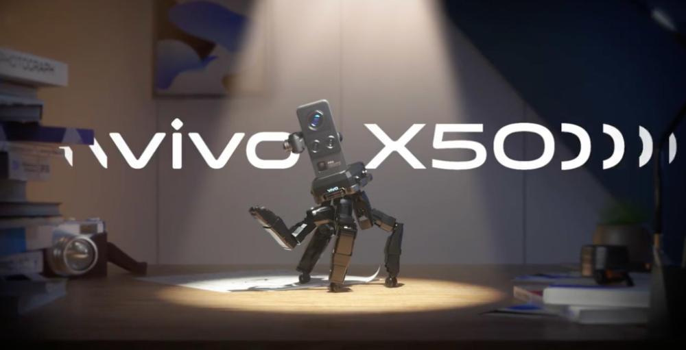 Vivo X50 gimbal teaser