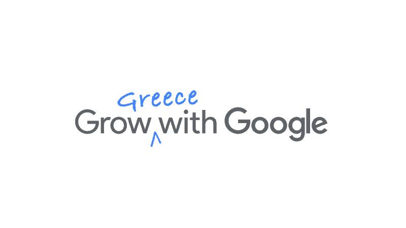 Greece Grow with Google logo
