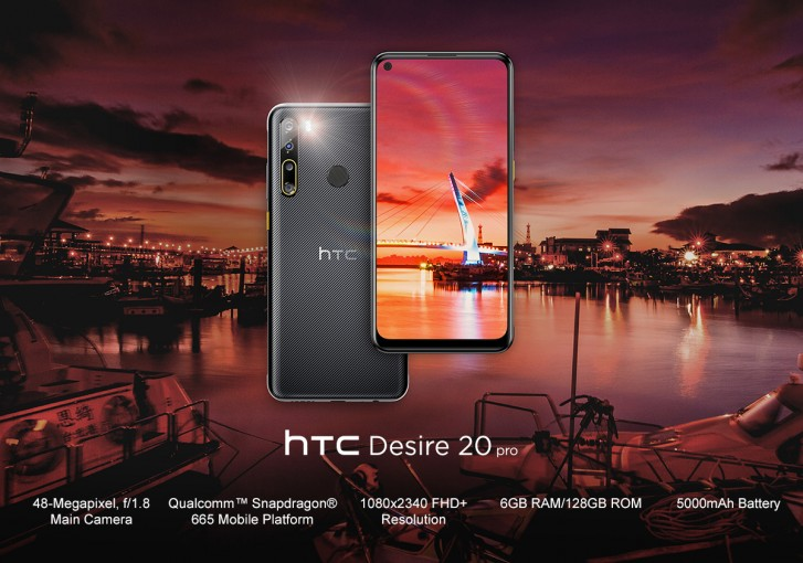 HTC Desire 20 Pro and U20 5G Official
