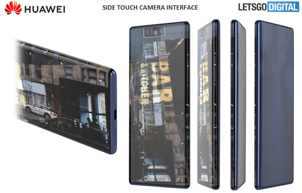 Huawei Mate 40 Side Touch Camera Controls