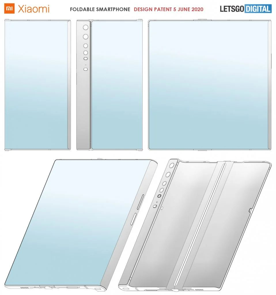 Huawei Mate Xs Like Xiaomi Foldable Smartphone