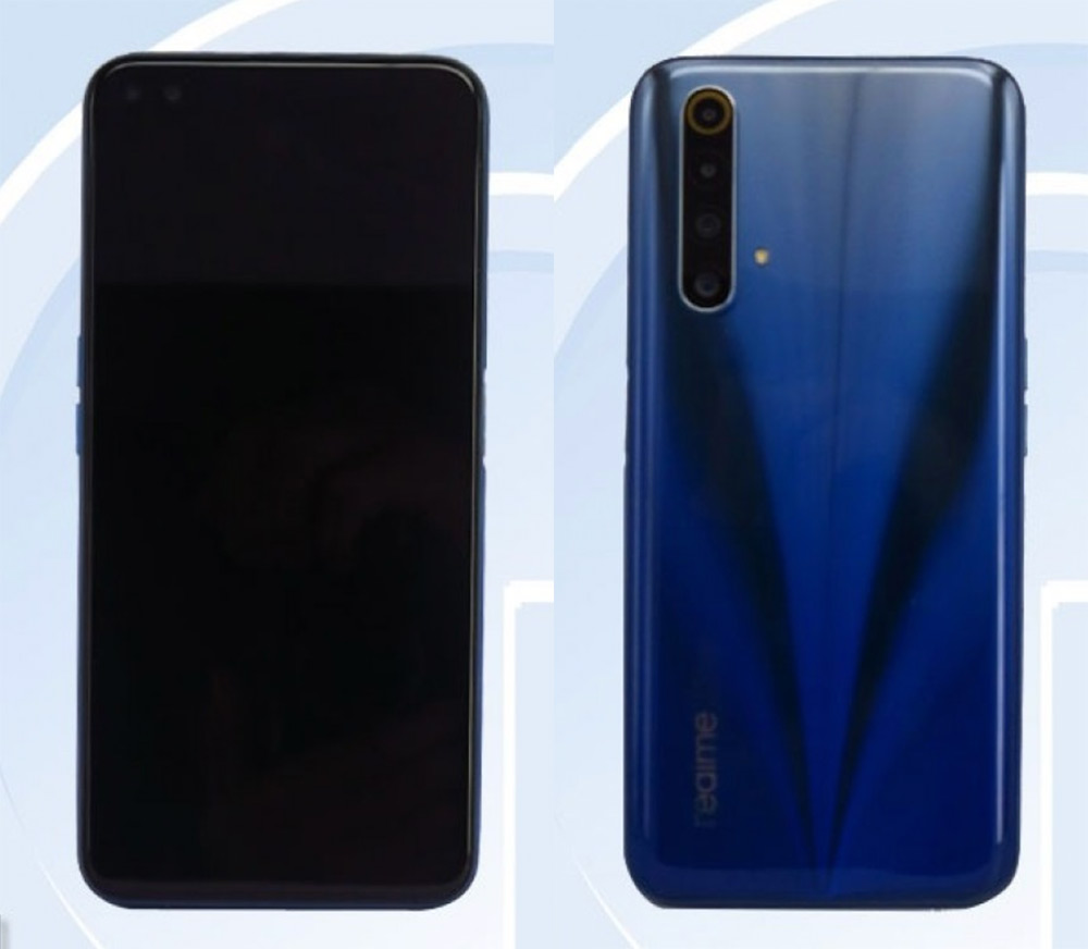 Realme X50t 5G render TENAA