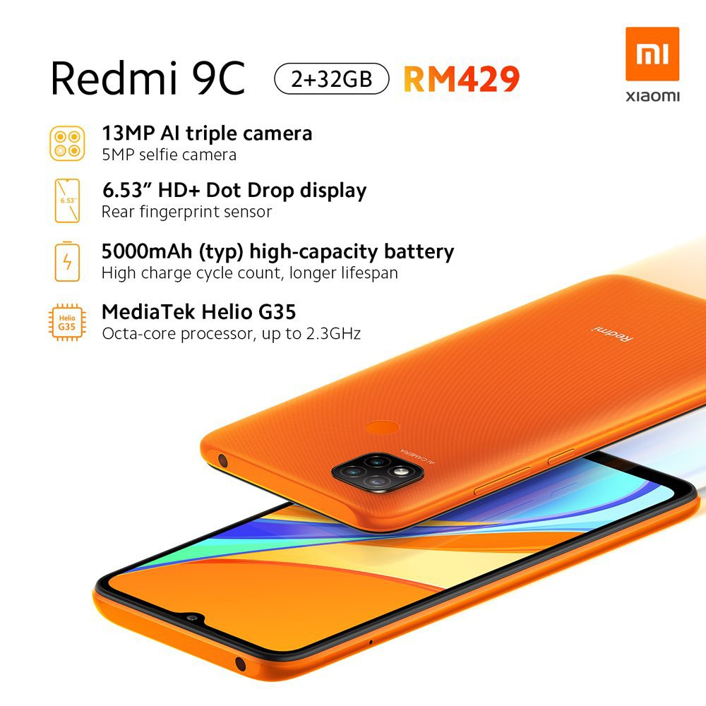 Redmi 9A and Redmi 9C Official