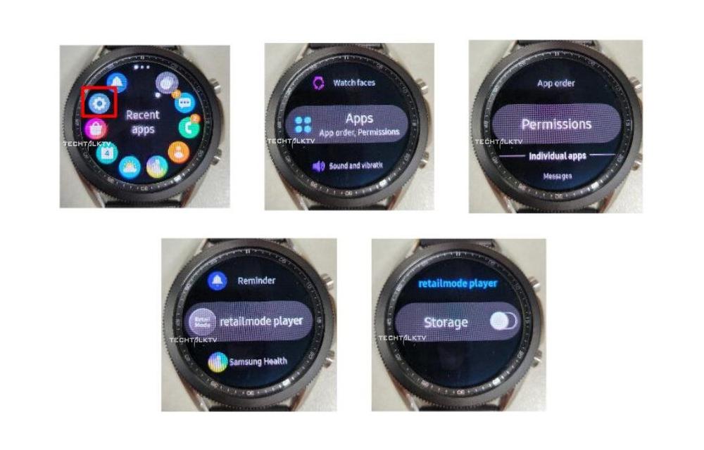 Samsung Galaxy Watch 3 New Live Photos