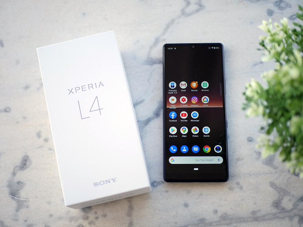 Sony Xperia L4 Techblog review hands-on