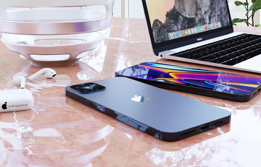 iPhone 12 Blue Navy Renders