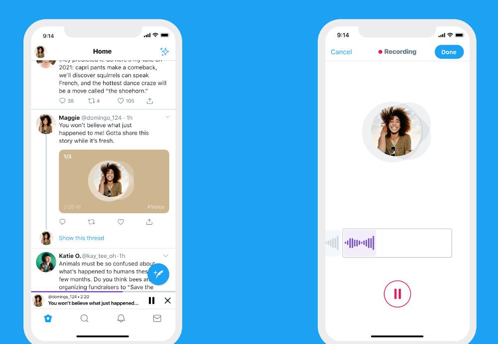 To Twitter θα ξεκινήσει να προσφέρει φωνητικά tweets στο iOS