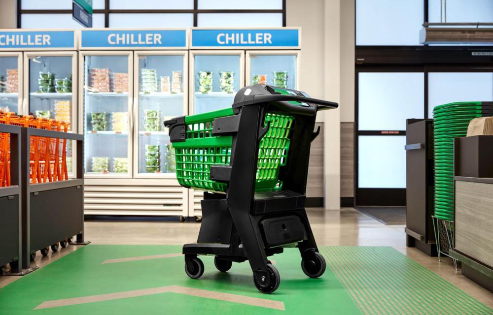 Amazon Dash Cart Smart Shopping