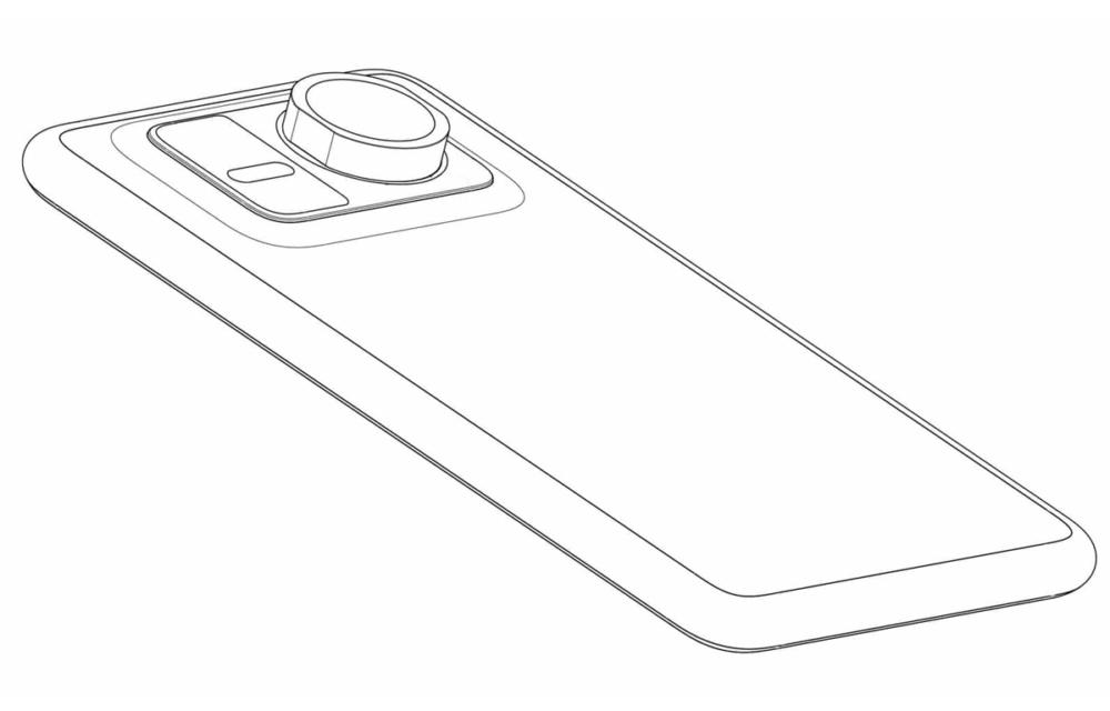 Huawei Design Smartphone With Attachable Zoom Lens