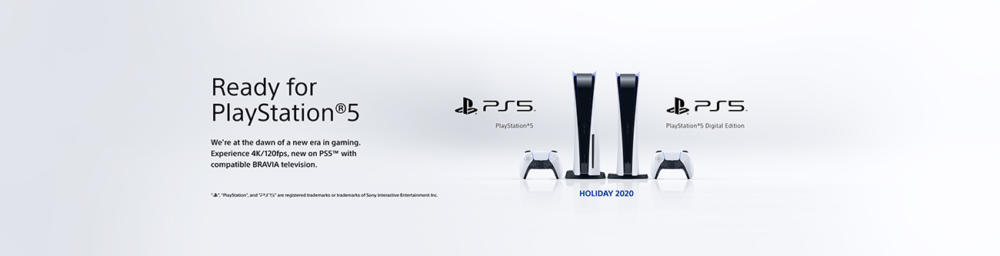 Ready for PlayStation 5 Sony TVs
