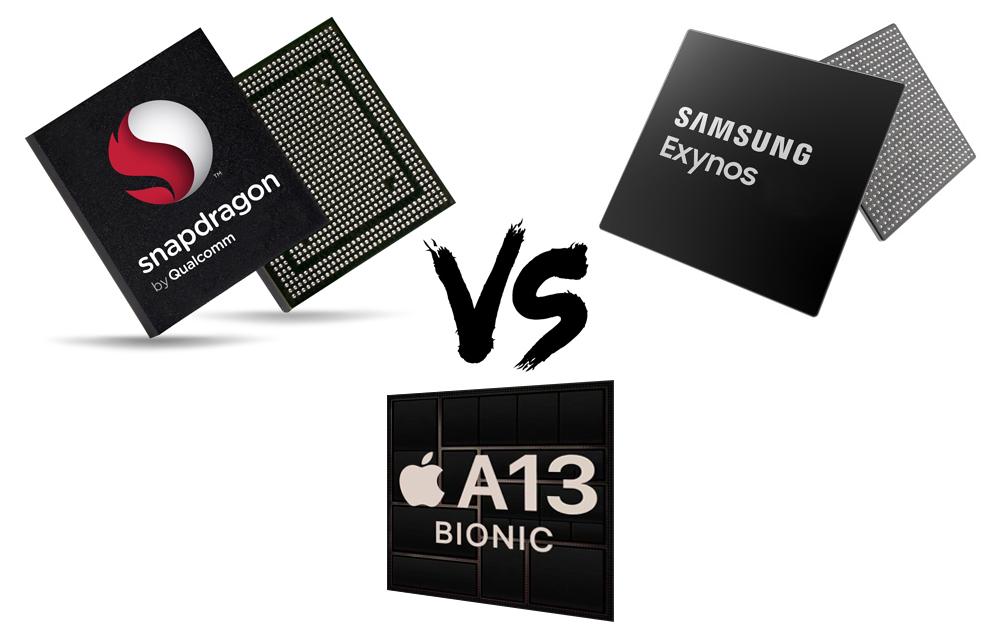 Snapdragon 865+ Exynos 990 A13 Exynos 992 Snapdragon 992 Samsung Galaxy Note 20
