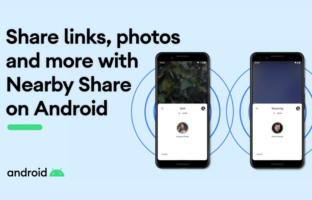 Google Android Nearby Share Release